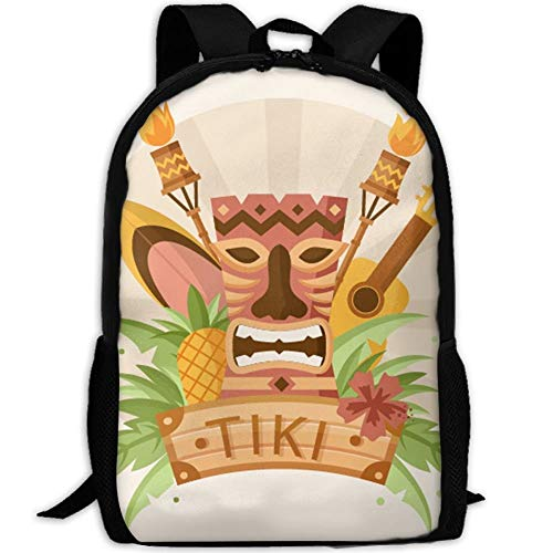 DKFDS Backpacks Most Durable Lightweight Rucksack Daypack For Outdoor Camping One Size - Pineapples Art ()