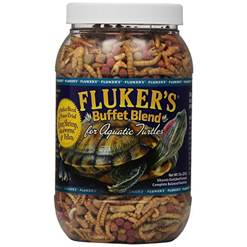 Fluker's Buffet Blend Aquatic Turtle Formula for Pets, 7.5-Ounce [2-Pack]