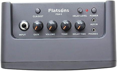 TARTIERY Amplificador de Guitarra Mini Amplificador Combo para ...