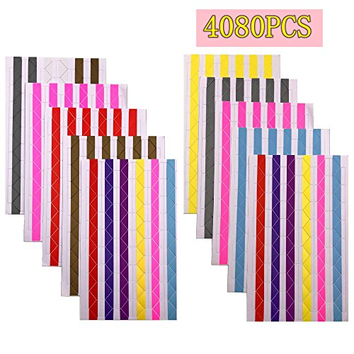Anndason 40 Sheets 4080Pcs Photo Mounting Corners Stickers for Scrapbook Picture Album by Anndason