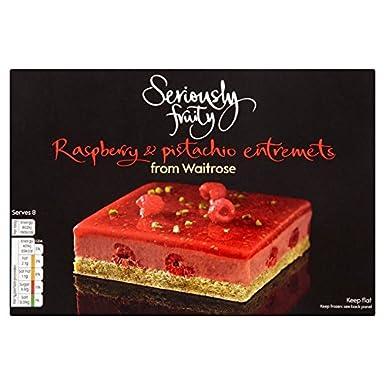 Fabulous Seriously Fruity Raspberry Pistachio Entremet Waitrose 400G Funny Birthday Cards Online Inifofree Goldxyz