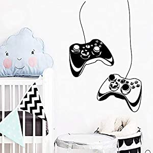 Wall Stickers, Wall Decals, Wall Paintings, Wall Tattoos, Wall Posters,DIY Art Gamer Handle Wall Sticker House Decoration Accessories Waterproof Wall Decals Art Decorative DIY Home Decor