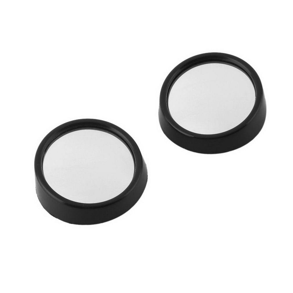 Kasstino 1Pair Car Vehicle Driver Wide Angle Round Convex Mirror Blind Spot Auto RearView