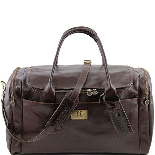 Tuscany Compact Leather Borsa Donna A Spalla Marrone Z6BSZq