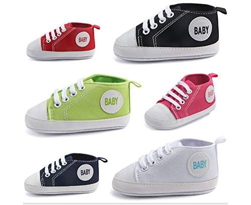 Pictures of WAM Baby Boys Girls Canvas Toddler Sneaker 2