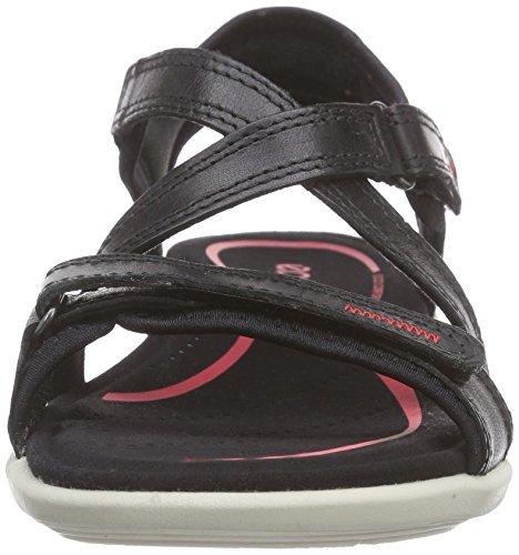 ECCO Bluma Sandal - Sandalias de tobillo Mujer Negro (BLACK1001)