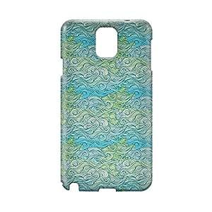 Waves Samsung Note 3 3D wrap around Case - Design 6