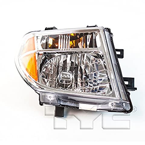 TYC 20-6591-00-1 Nissan Right Replacement Head Lamp - Nissan Frontier Headlight Replacement