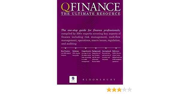 qfinance calculation toolkit bloomsbury publishing