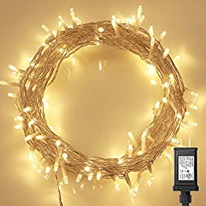 Amazon.com : String Lights, 100 LED Indoor Fairy Lights with ...
