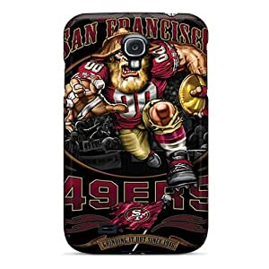 Snap-on Case Designed For Galaxy S4- San Francisco 49ers