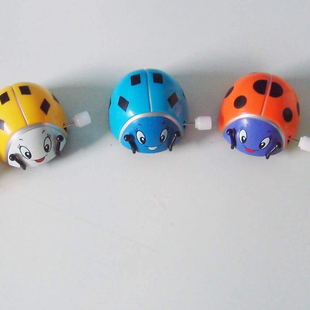 STOBOK Wind up Marienk/äfer Uhrwerk Spielzeug f/ür Kinder Geschenk 12 St/ücke Zuf/ällige Farbe