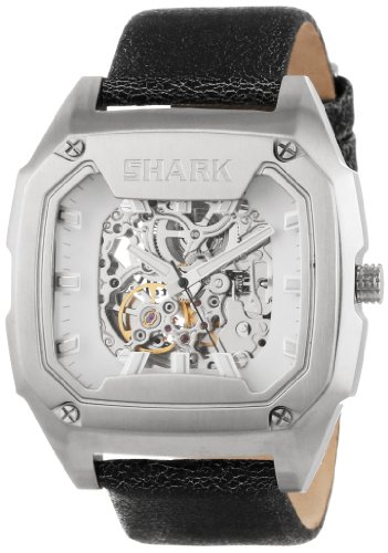 Freestyle Men's 101829 Killer Shark Automatic Silver Dial Black Strap Analog Watch
