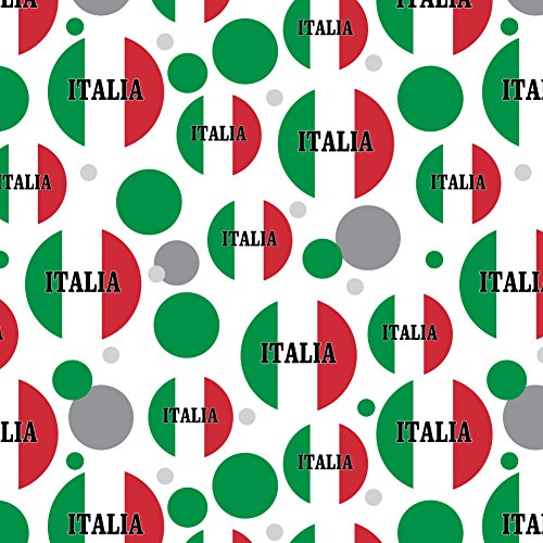 GRAPHICS & MORE Italia Italy Italian Flag Premium Gift Wrap Wrapping Paper Roll