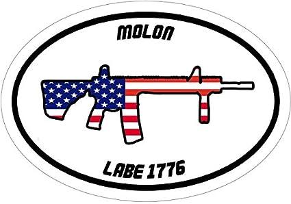 Gun flag 2nd amendment rifle vinyl die cut sticker decal American Flag
