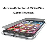 tzumi ProGlass Screen Protector for iPhone 6 7 8 – Premium High Definition Tempered Glass with Easy Application and Cleaning Kit for High-Definition Clarity, Screen Protection and Scratch-Resistance