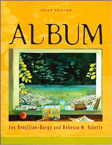 Album (text only) 3rd (Third) edition by J. Renjilian-Burgy,R. Valette