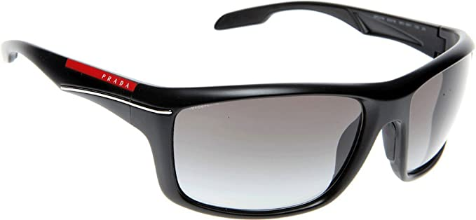 055f6850110b3 Image Unavailable. Image not available for. Color  PRADA Sunglasses SPS 01N  BLACK ...