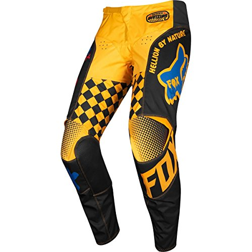 Fox Racing 180 Czar Men's Off-Road Motorcycle Pants - Black/Yellow / 32