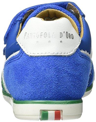 Pantofola d'Oro Vasto Ragazzi Velcro Low - Zapatillas de casa Niños Azul (Olympian Blue)