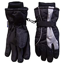 N'Ice Caps Youth Waterproof Bulky Reflector Snow Skiing Gloves