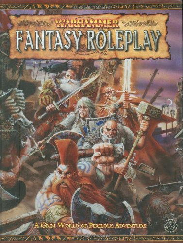 Book cover from Warhammer Fantasy Roleplay Rulebook by Green Ronin