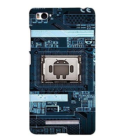 Android Ic Case Back Case Cover for Xiaomi Redmi Mi4i: Amazon in