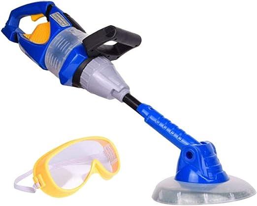 Herramienta eléctrica para niños, juguete para simulación de motosierra, aspirador Weeder Pretend Play Toy Weeder Spielzeug azul: Amazon.es: Hogar