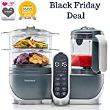 Duo Meal Station Food Maker   6 in 1 Food Processor with Steam Cooker, Multi-Speed Blender, Baby Purees, Warmer, Defroster, Sterilizer (2019 NEW VERSION)