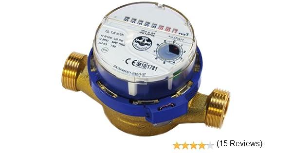 Flujo medidor de agua de alta calidad, el agua fría de 3/4 de ...