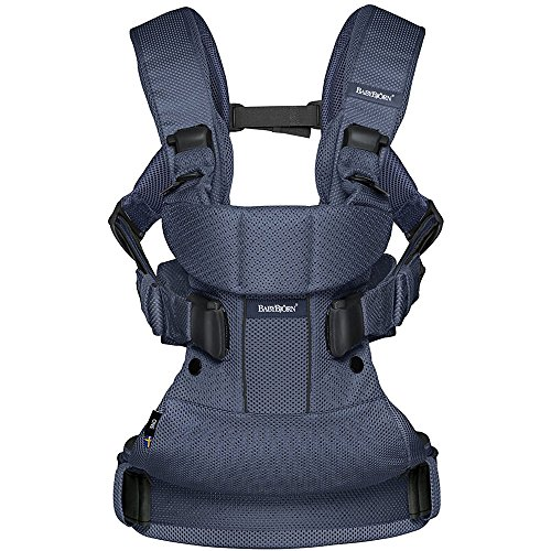 Baby Bjorn Baby Carrier One Air With Safety Reflector - Navy by BabyBjörn (Image #1)