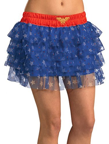 Rubie's DC Comics Superhero Style Skirt With Sequins, Multicolor, One Size Costume]()