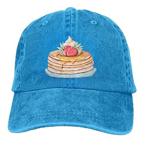 GqutiyulU Happy Pancake Day Adult Cowboy Hat ()