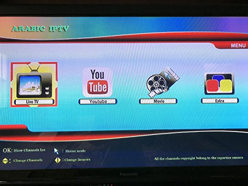 Arabic Channels Iptv 2 YEARS SERVICE RENEWAL for Super Arab Iptv, Lool,  Model 5, Model 6 and other boxes ( same photo )