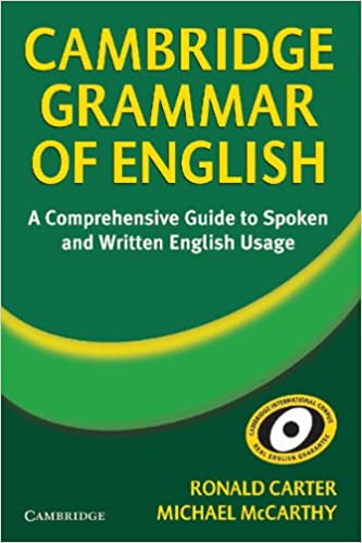 Cambridge grammar of english a comprehensive guide ronald carter cambridge grammar of english a comprehensive guide ronald carter michael mccarthy 9780521581660 amazon books fandeluxe Images