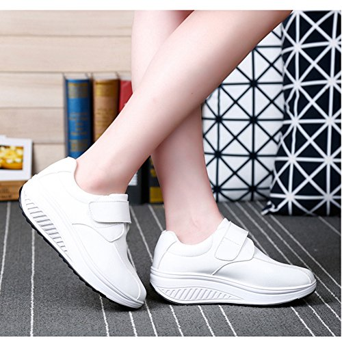 White Lace on By Non Btrada Waking Shoes Womens Sneakers Fashion Casual pqcvxwxtI8