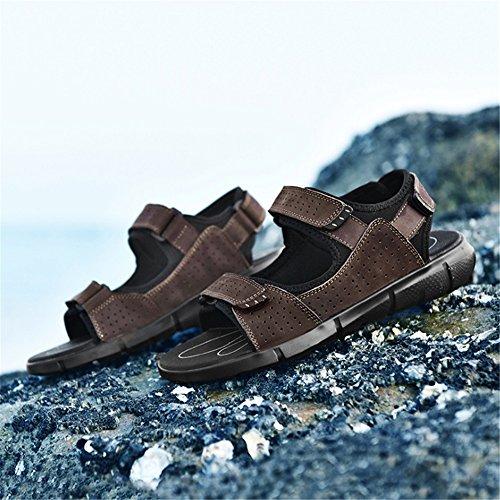 Magic EU Sports Dimensione Men's Wagsiyi Sandali 0 24 pantofole 29 Sandal Colore Outdoor CM Beach 44 Rosso Stick spiaggia Traspiranti Rossi 0 Shoe Scarpe da Rosso qISXICw