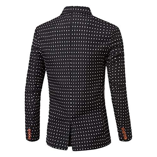 Loisirs Tuxedo Pour Poitrine Mode Retro D'extérieur Simple Schwarz Vêtement Party De À Classique Prom Homme Blazer Costume Veste 6WxAqS4wRn