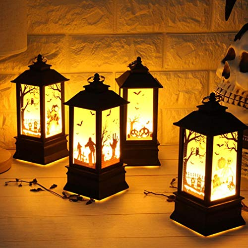 Halloween Candle LED Light, Elevin(TM) Halloween Candle LED Tea Light Candles Halloween Party Decoration (Multicolor A)