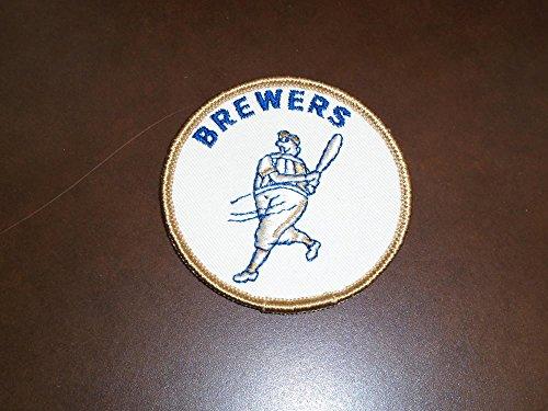 - ORIGINAL 1970 MILWAUKEE BREWERS FIRST YEAR BASEBALL PATCH 3 INCHES DIAMETER