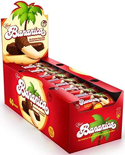 - Krem Banana (Stark) CASE, 20gx40, Chocolate Covered Banana Flavored Dessert