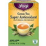 Yogi Herbal Green Tea, Super Antioxidant 16 ea