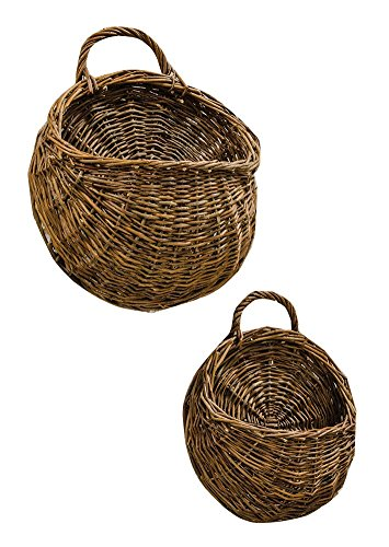 Willow Wall (CWI Gifts 2-Piece Willow Wall Basket Set,)