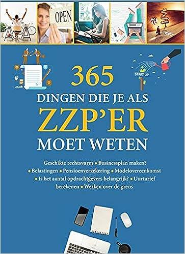 Como Descargar Libros 365 Dingen Die Je Als Zzp'er Moet Weten Kindle Lee Epub