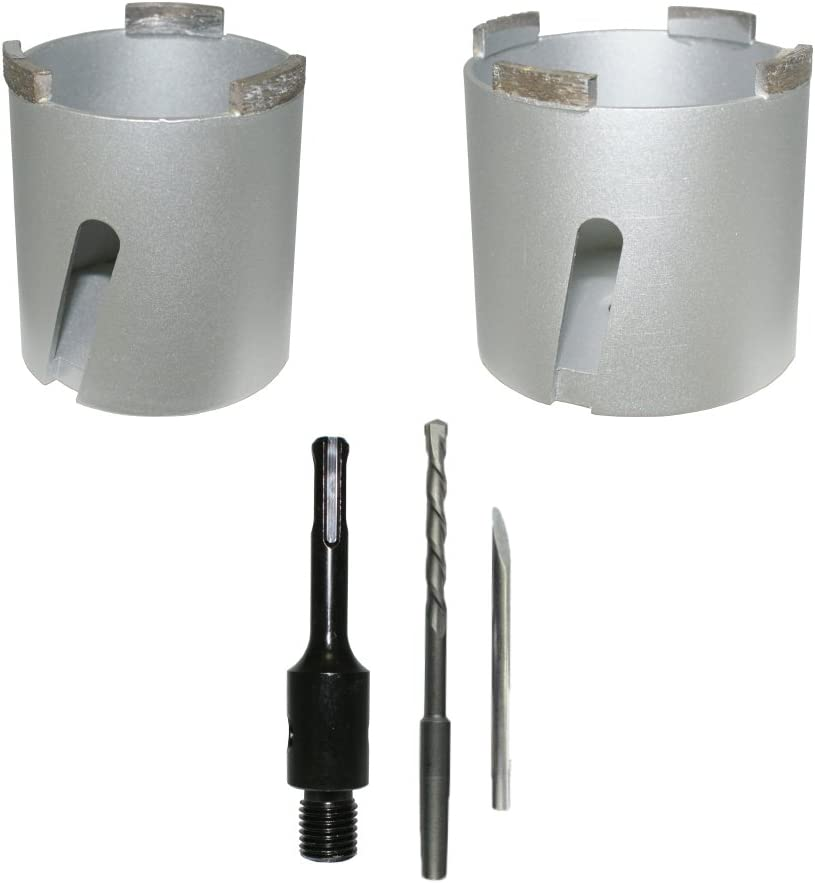 68/+ 82/mm + 1/Incluye caja de broca SDS Plus Senker brocas de corona de perforaci/ón Diamante de Corona universal enchufes de broca//–/Bodi-Tek Tools