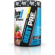 BPI Sports -Ketogenic Pre Workout Supplement, Tropical Freeze, 11.11 Ounce