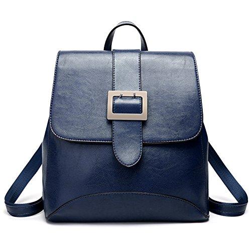 Womens Shoulder Bags Purse PU Leather Fashion Backpacks Ladies Casual Rucksack School Bags