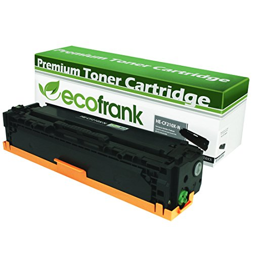 EcoFrank Compatible High Yield Toner Cartridge Replacement for HP 131X CF210X (Black, 1-Pack)