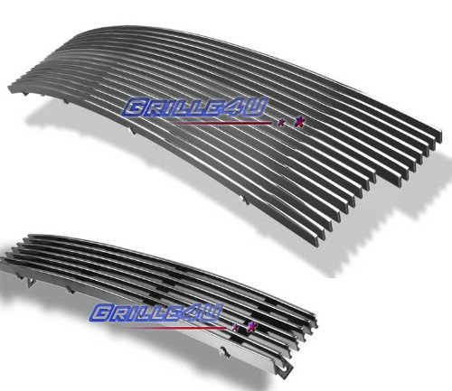 97-98 Ford F-150 4WD/Expedition Billet Grille Grill Combo Insert # F87951A (Ford Expedition Grille Insert)