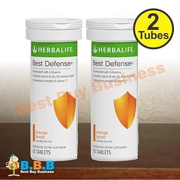 Amazon.com: 2 x Herbalife mejor Defensa – Naranja Boost ...